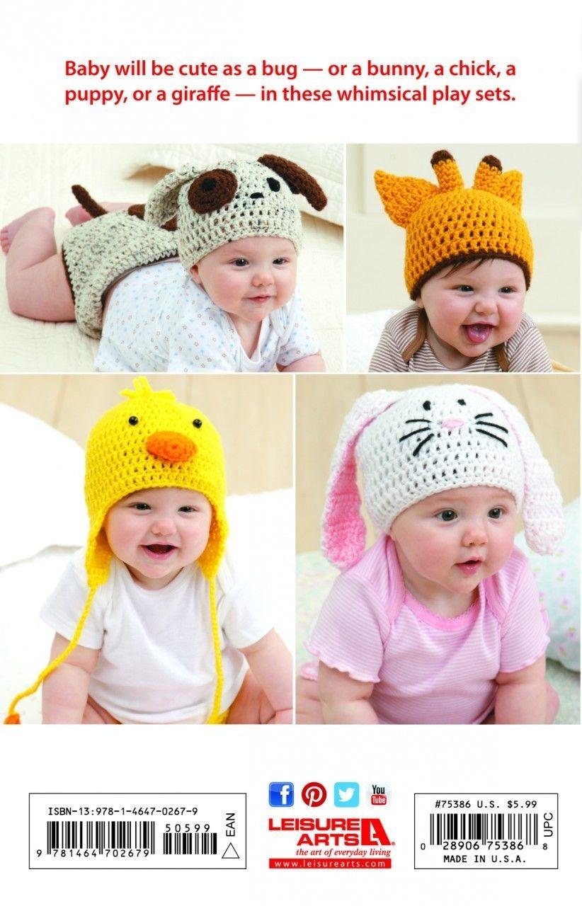 34a5d858a38 Crochet hat and diaper cover ebook