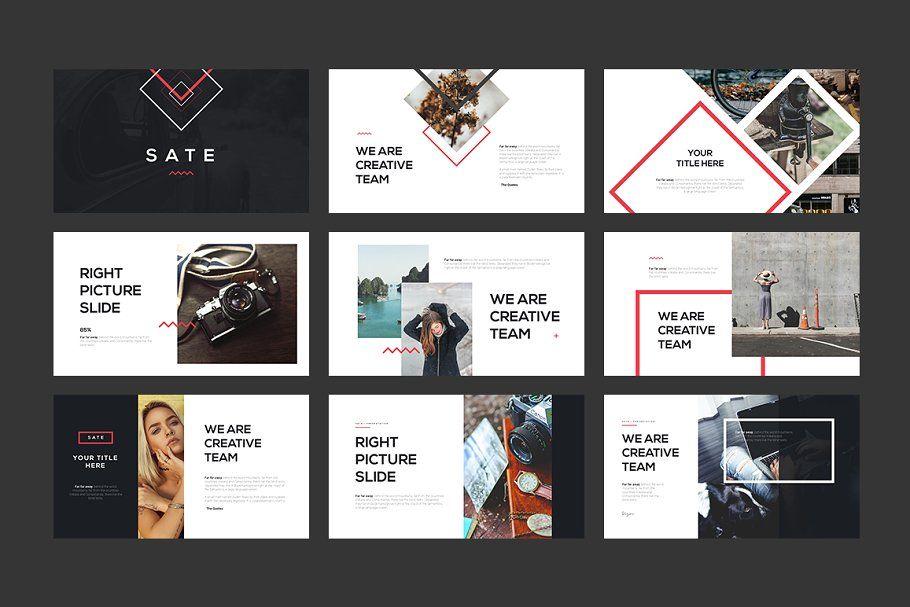 Sate Keynote Template By Angkalimabelas On Creativemarket Design