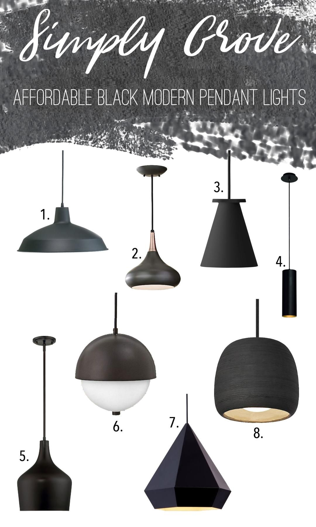 We Re Loving All Of These Modern Pendant Light And Even More Their Prices
