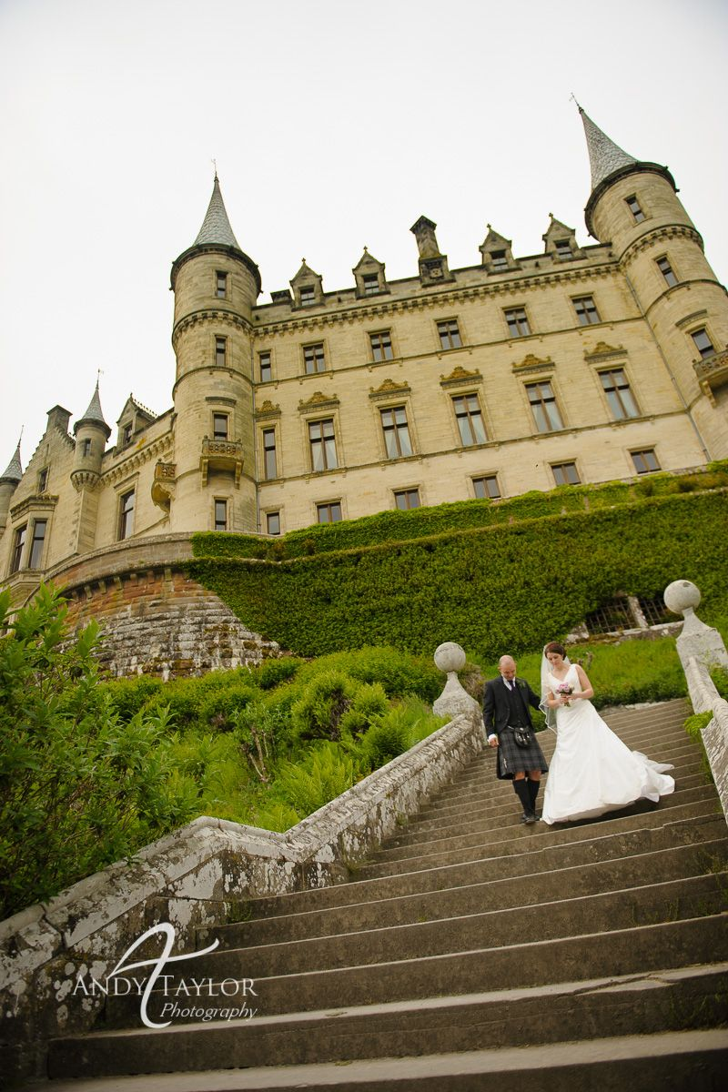 Getting Married At Dunrobin Castle Golspie Highlands Of Scotland