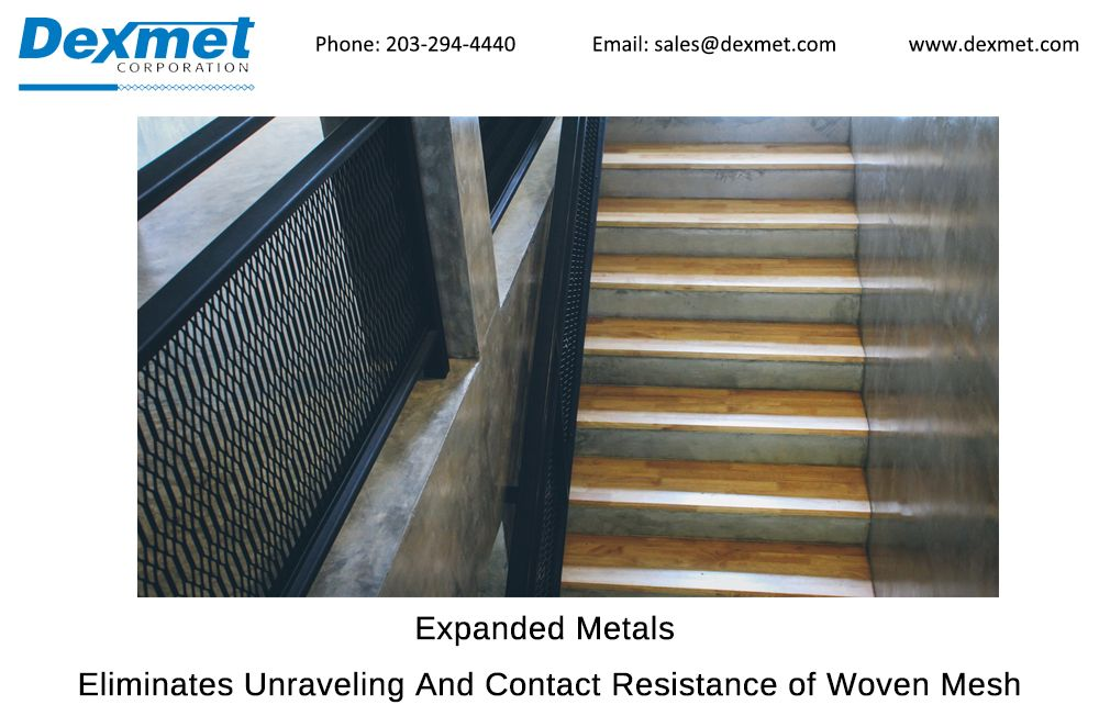 Best Pin By Dexmet Corporation On Expanded Metals Expanded Metal Metal Stairs 400 x 300