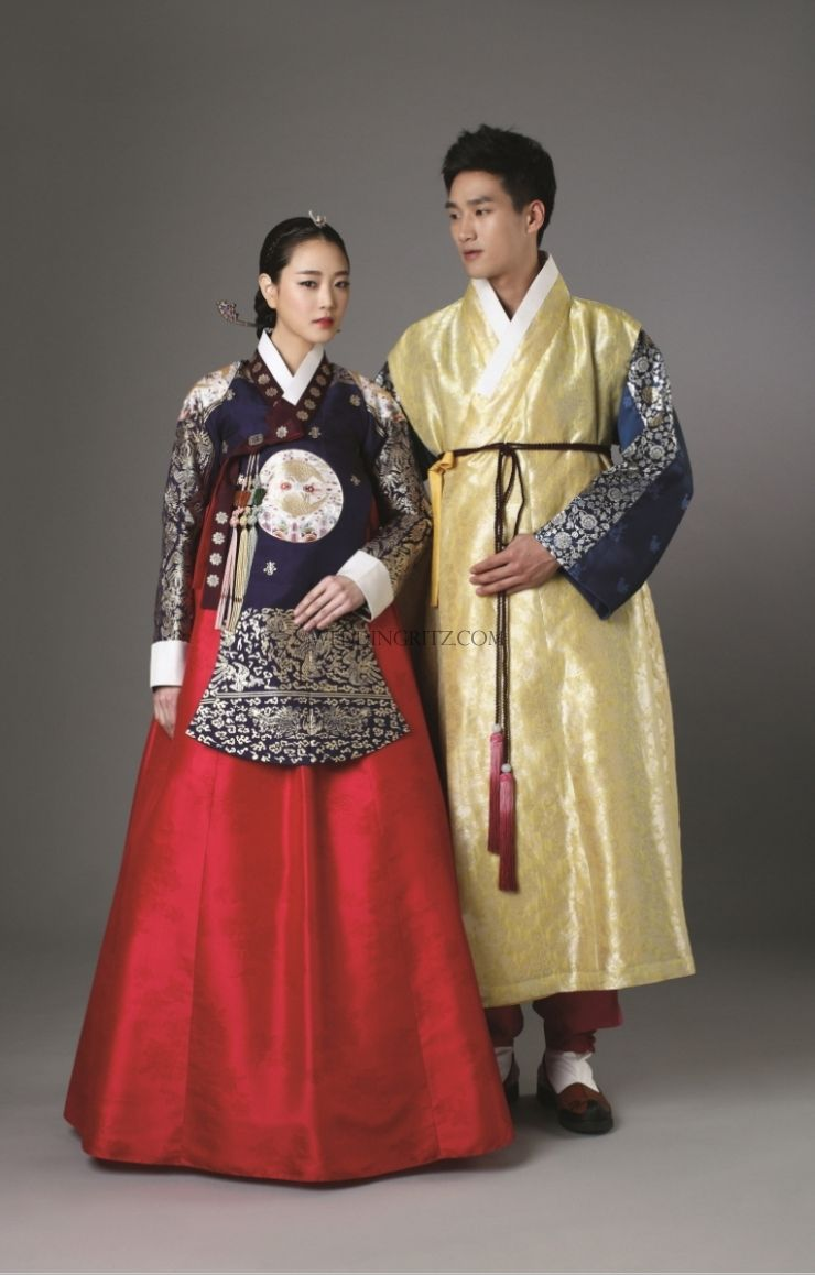 Korea Pre Wedding Photo Korean Traditional Clothes