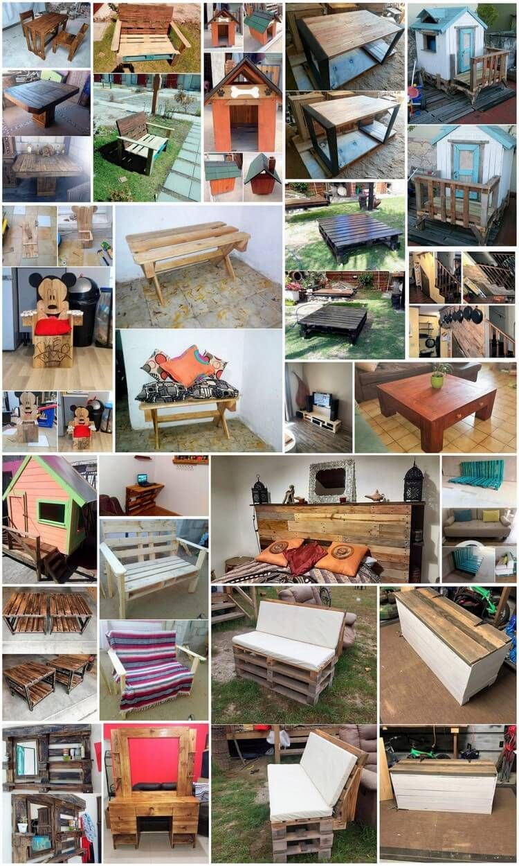 shipping pallet furniture ideas. Fantastic Ideas For Repurposing Used Shipping Wood Pallets Pallet Furniture D