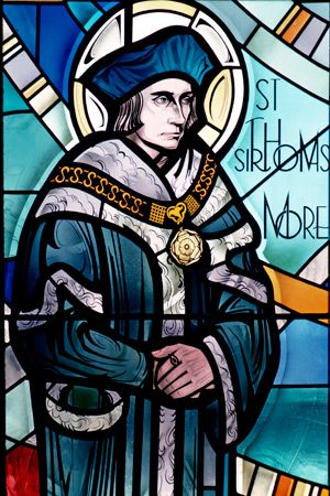 22 June St Thomas More 1478 1535 Martyr An English Lawyer Social Philosopher Author Statesman And Noted Renaissan St Thomas Martyrs Stained Glass Church