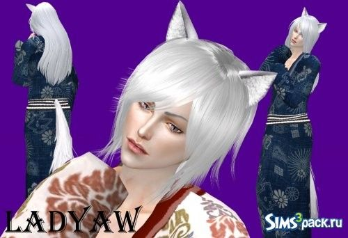 Tomoe (OPB) by ladyaw Hair, ts4, Male | Mods & Custom Content | Sims