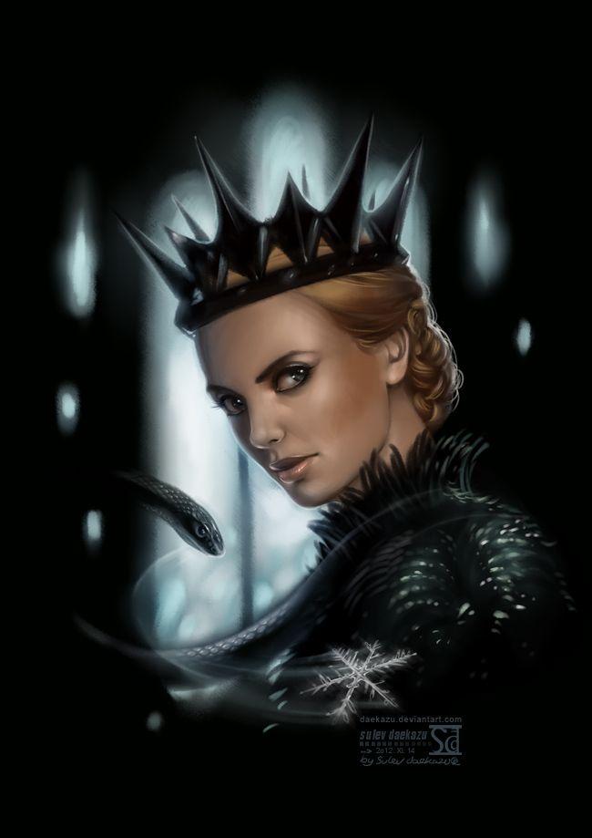 Queen Ravenna: Snow by `daekazu on deviantART ~ Disney ...