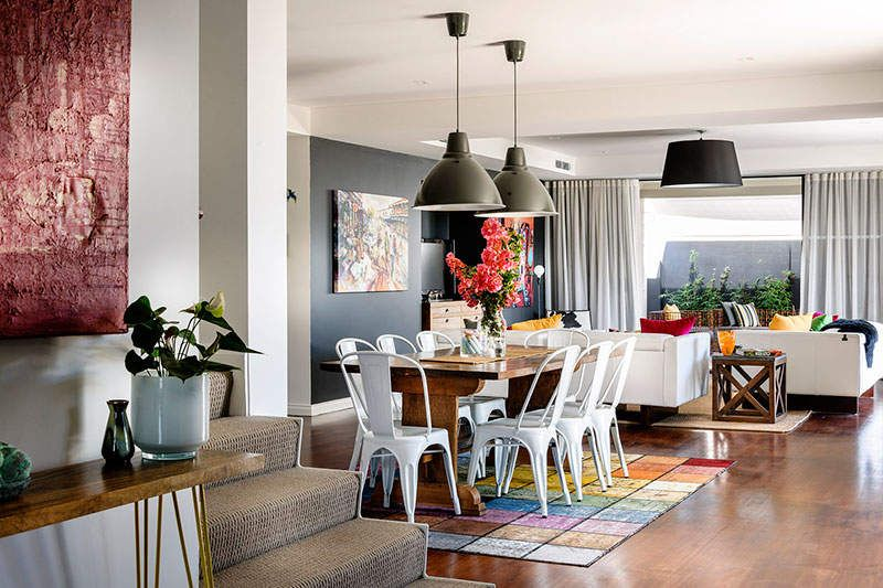 Beautiful modern eclectic interior by Collective Interiors.