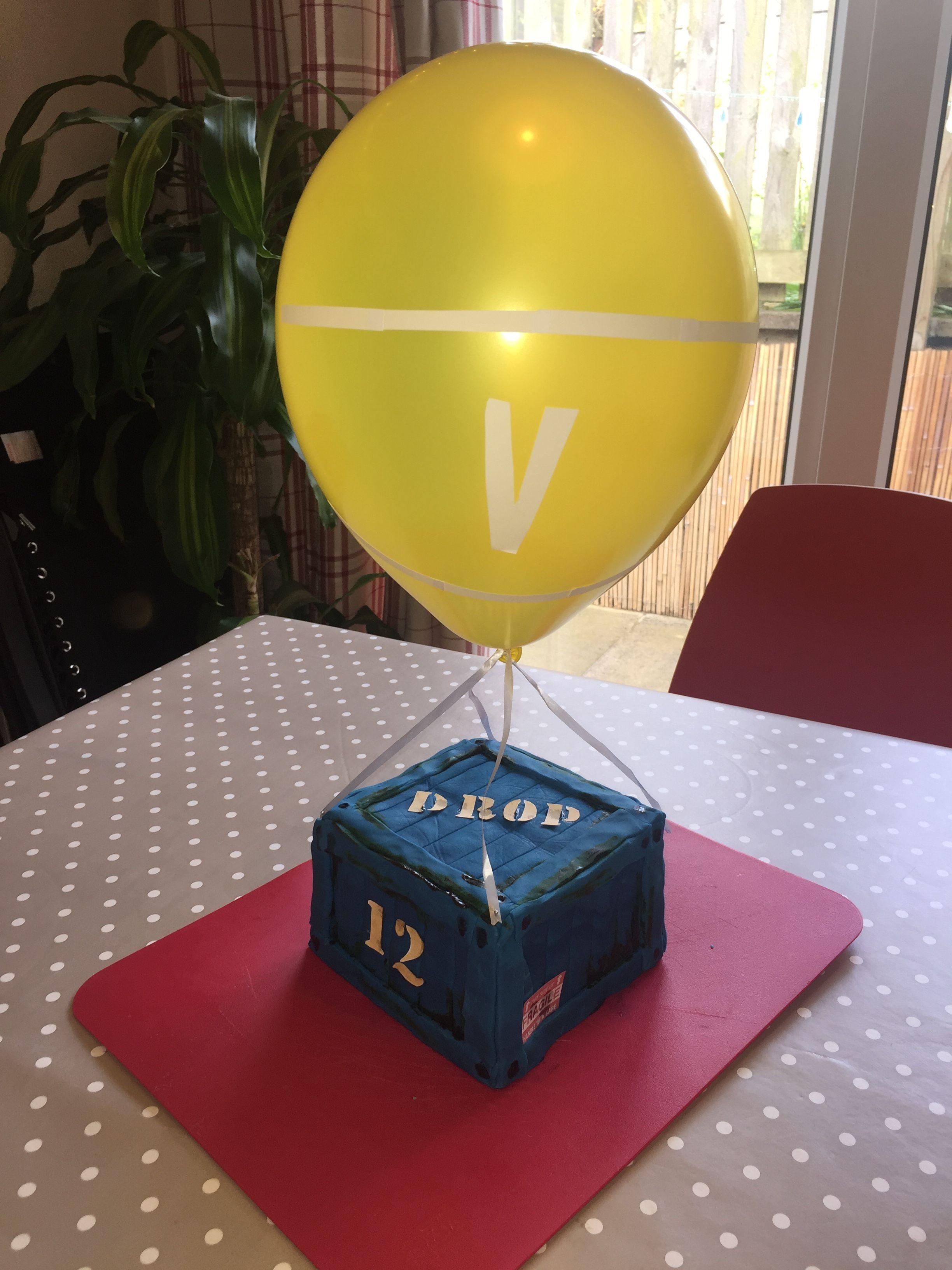 Fortnite Supply Drop Birthday Cake Birthday In 2019 12th