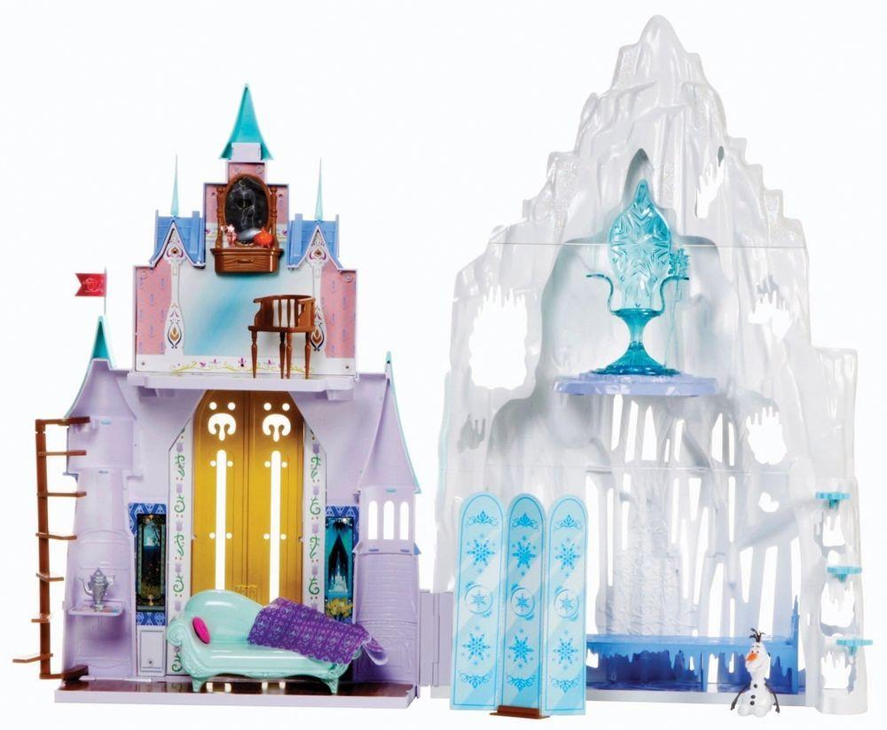 Disney Frozen Castle Ice Palace Playset Anna Elsa Arendelle Doll House Movie Toy Disney Frozen Castle Frozen Castle Disney Frozen