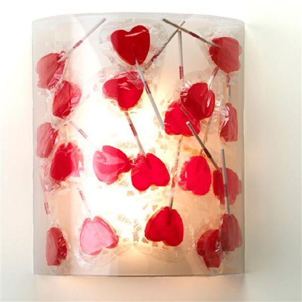 Heart Shaped Lollipop Lamp Love It