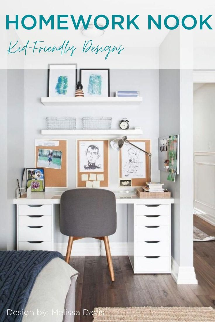 Kid's Workspace Ideas for Remote Learning