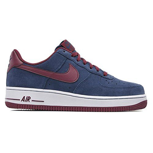 NIKE MENS AIR FORCE ONE LOW SNEAKER Navy FootwearSneakers