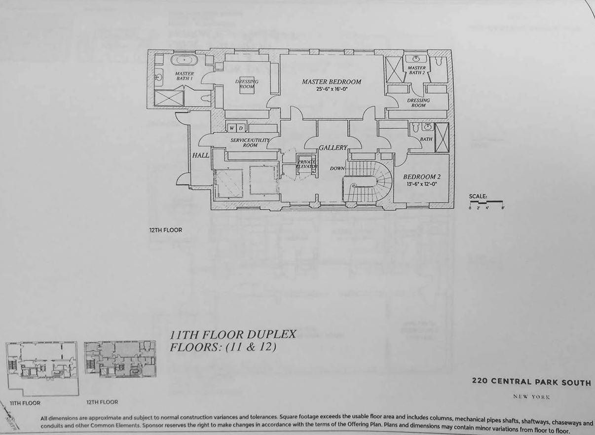 220 Central Park South - Villa Floor Plans - JPRUBIO