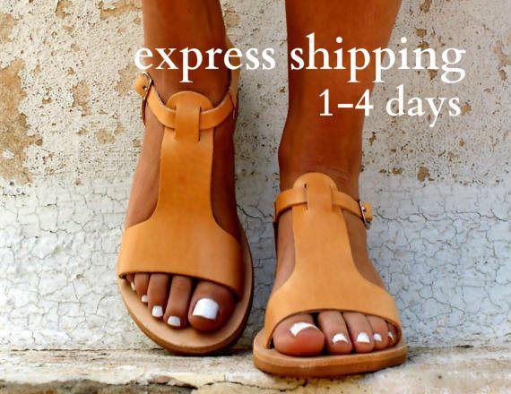 Yesmile Sandalias Mujer Verano Fondo Grueso Zapatillas Punta Abierta Cuero Fondo Plano Zapatos Bohemias Romanas Sandalias de Punta Descubierta