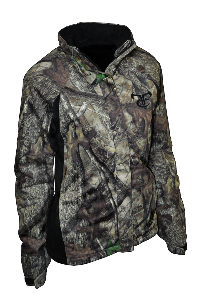 """The TrueTimber Outdoors """"Ladies Permafrost Jacket"""" is the jacket our customers have been asking for. Finally, get out there and stay out there with this extremely warm insulated jacket in our best selling HTC fall pattern."""