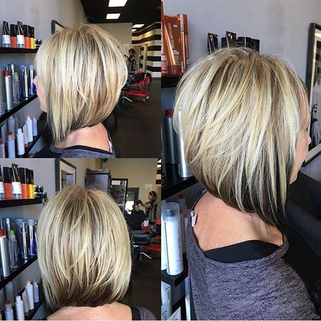 Blonde Bob With Dark Underneath | Hair Color Ideas and Styles for 2018