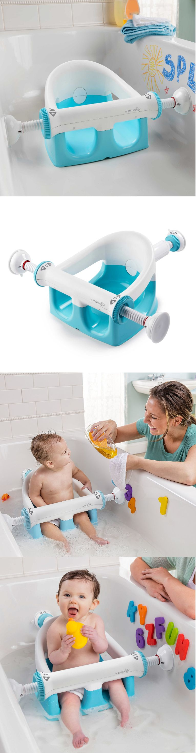 Bath Tub Seats and Rings 162024: Baby Bath Tub Seat Infant Toddler ...