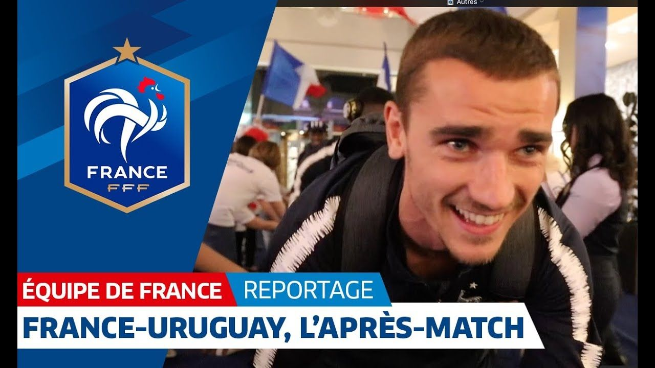 France Les Bleus after their 20 win against Uruguay I
