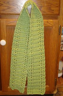 ~ Dly's Hooks and Yarns ~: Stacked shells scarf