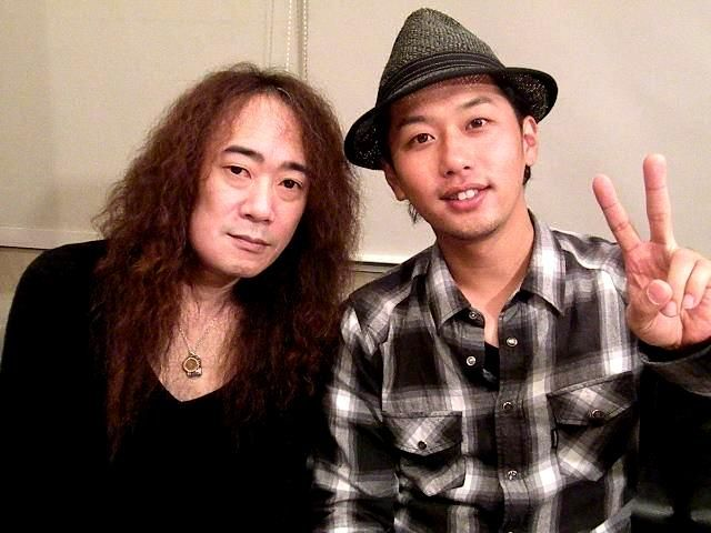 Pata and a friend. X Japan