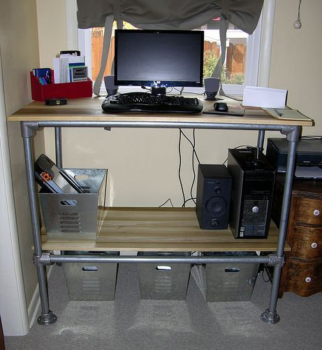 A Bargain DIY IKEA Standing Desk Lifehacker Australia Office