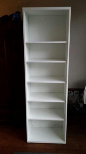Ongebruikt Ikea besta kast wit met 5 losse planken, afmetingen 60 x 40 x 192 DM-11