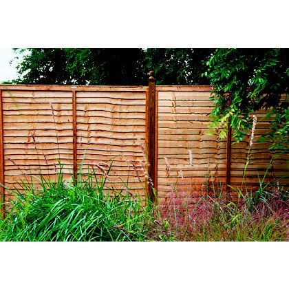 Forest Lap Fence Panel 6x4ft Pinterest Fence Panel Fences And