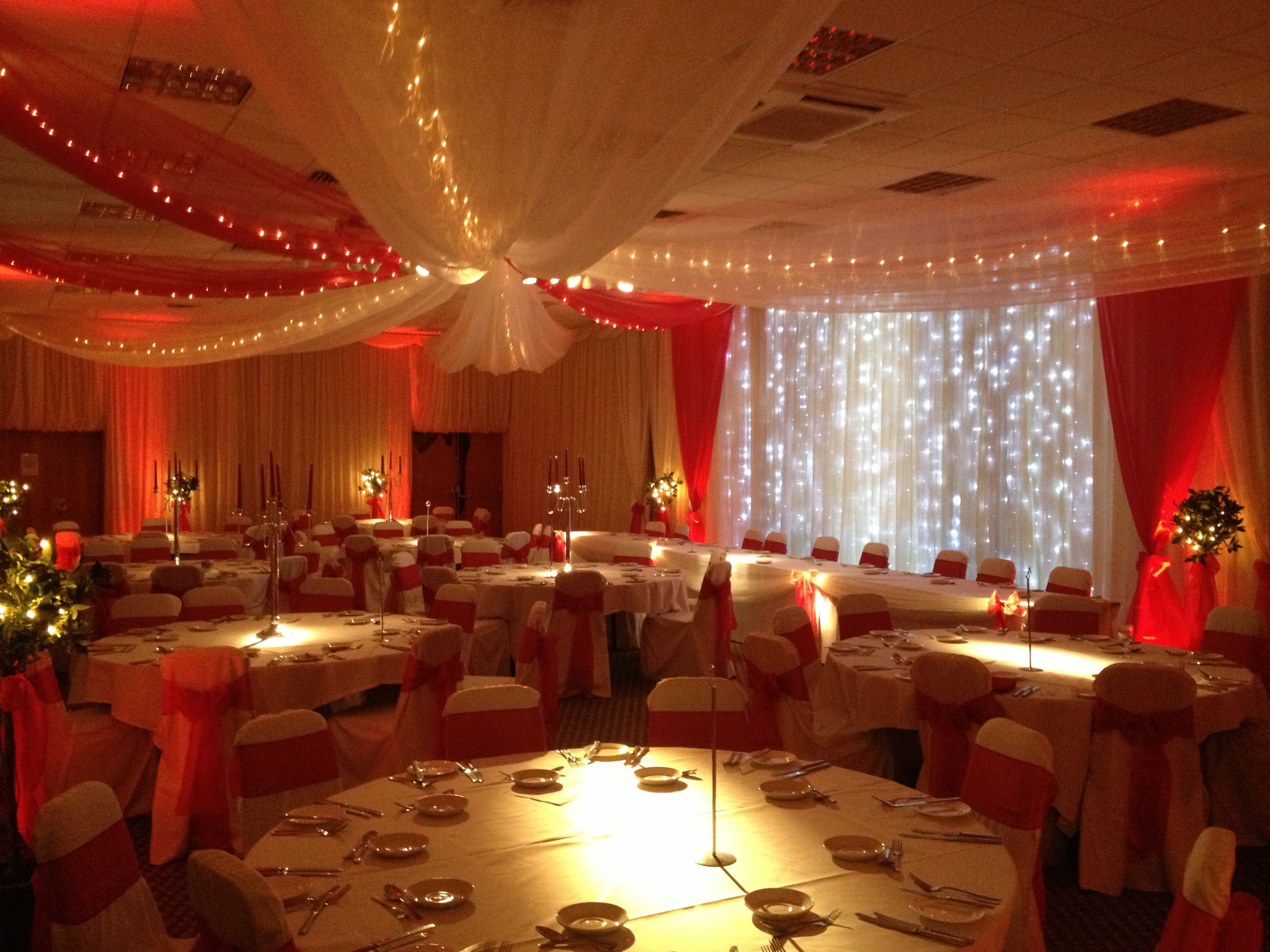 Organza u0026 fairy light canopy. & Organza u0026 fairy light canopy. | Decorating tips | Pinterest ...