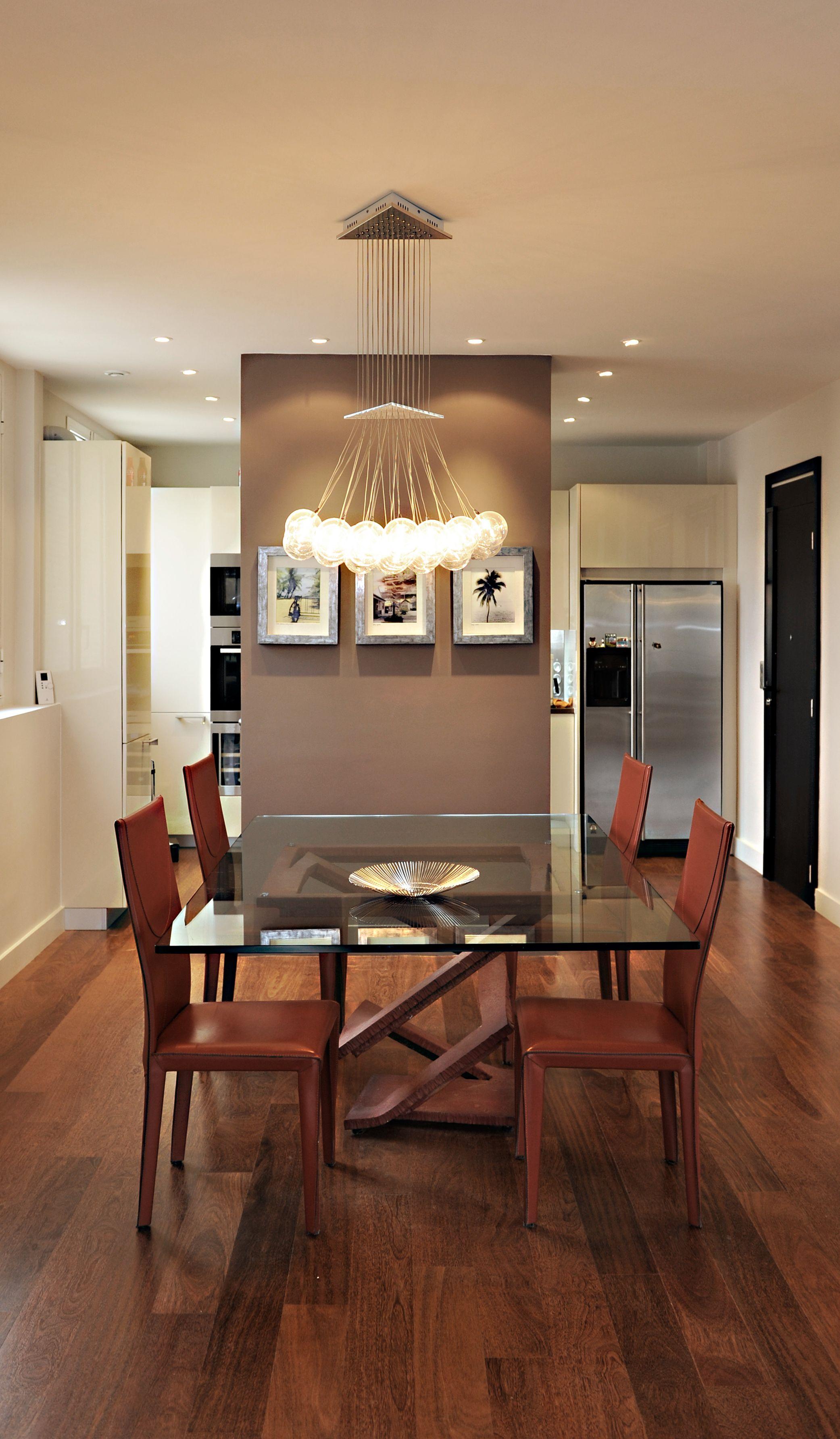 Architecte D Intérieur Cfai séparation sobre entre la cuisine et la salle à manger