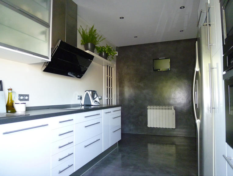 propuesta revestimiento para paredes y suelo con microcemento ...