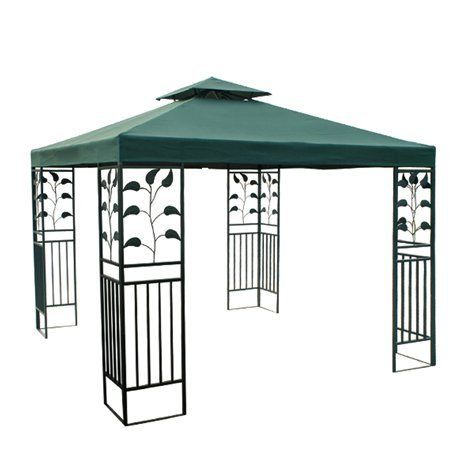 Green Patio Sun Shade 10x10 Ft Garden Canopy Gazebo Replacement Top . $69.99. Velcro Attaching  sc 1 st  Pinterest & Green Patio Sun Shade 10x10 Ft Garden Canopy Gazebo Replacement ...