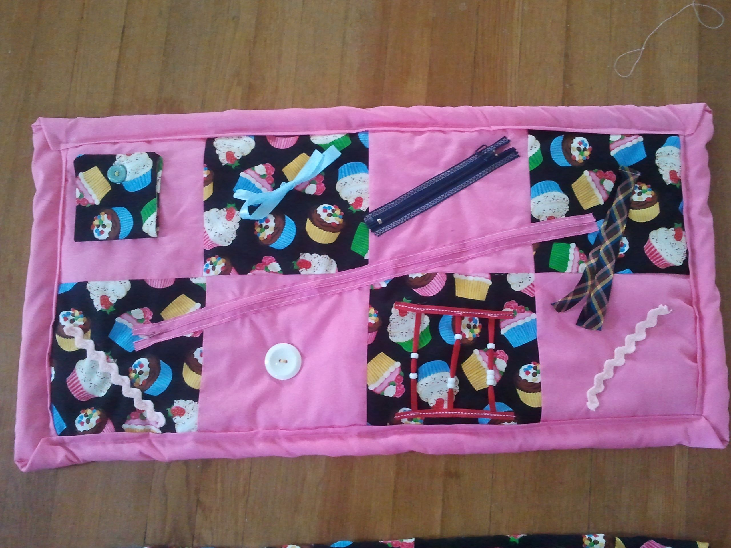 Activity Blanket I Made For Elderly People With Dementia