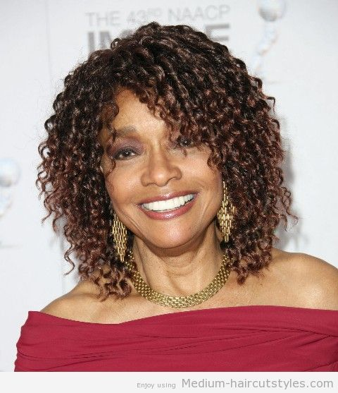 Medium Curly Hairstyle For Women Over 50s Medium Curly Braided Hairstyles For Black Women Curly Hair Styles