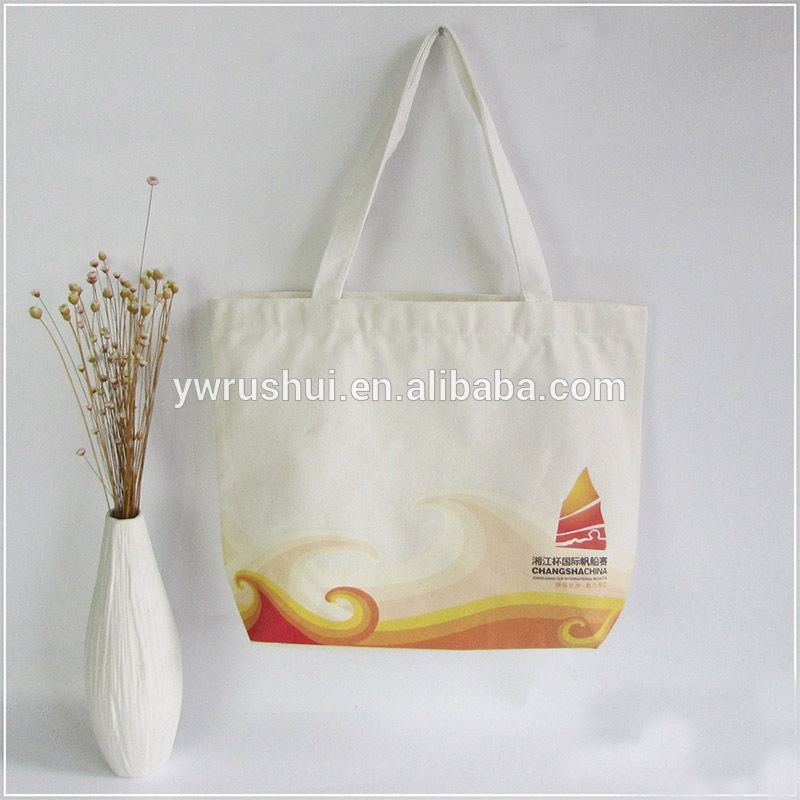 china products canvas tote bags in bulk with custom custom printed