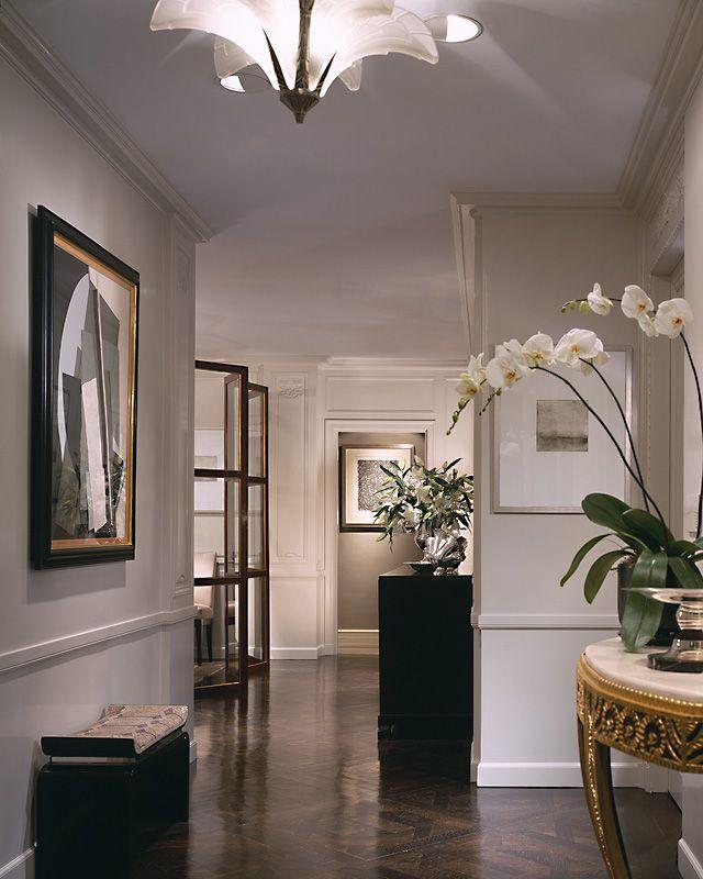 3d Interior Design Ideas For Entryways Hallway Lighting: Upper East Side, Glass Screen Divider