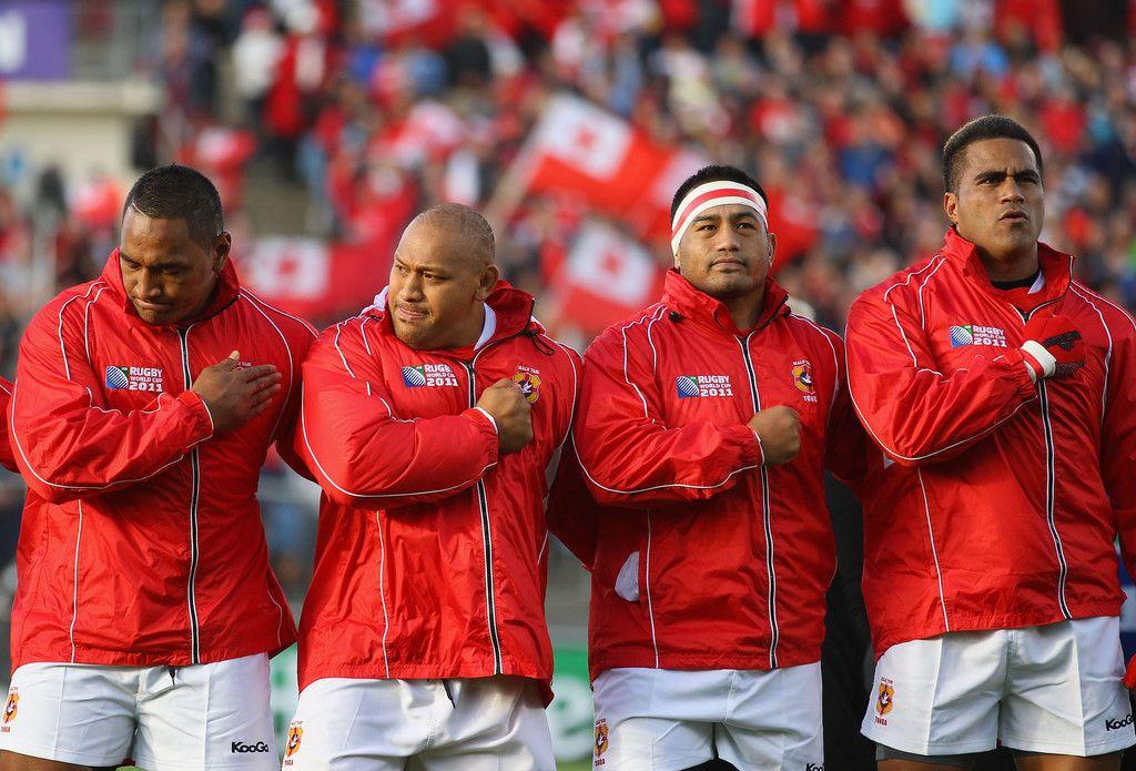 Finau Maka in Tonga v Canada - IRB RWC 2011 Match 10