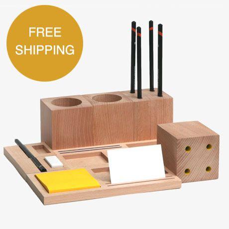 modern minimal desk accessories by kukka founded in 2010 by israeli british - Designer House Accessories