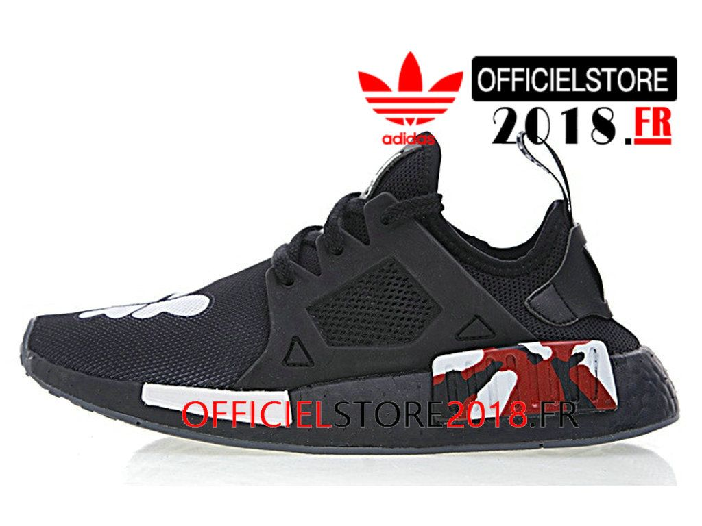 new arrival 7825e 9922b Kaws x Adidas NMD XR 1 Boost Chaussures Prix Pas Cher Pour Homme Noir  BY9948-BY9948