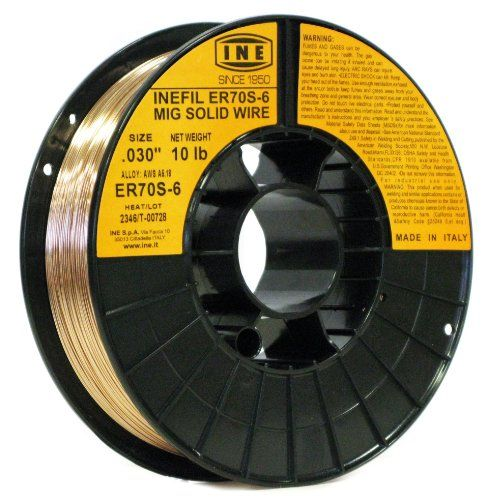 INEFIL ER70S-6 .030-Inch on 10-PoundSpool Carbon Steel Mig Solid Welding Wire INE USA Since 1950,http://www.amazon.com/dp/B003XKH71O/ref=cm_sw_r_pi_dp_w-xEtb1J14PFGXJQ