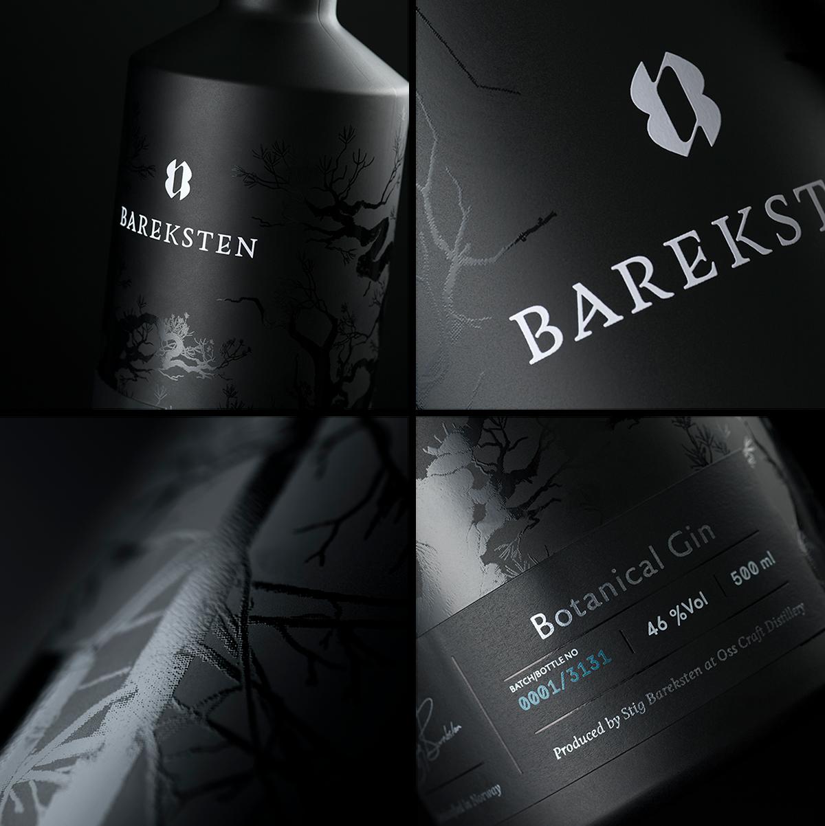 Bareksten Spirits — The Dieline - Branding & Packaging Design