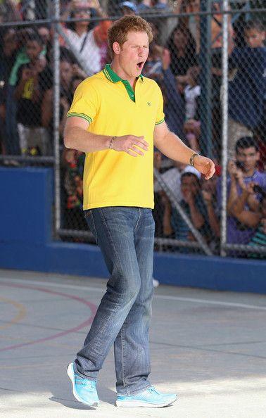 Prince Harry Photos - Prince Harry Visits Brazil: Day 3 - Zimbio