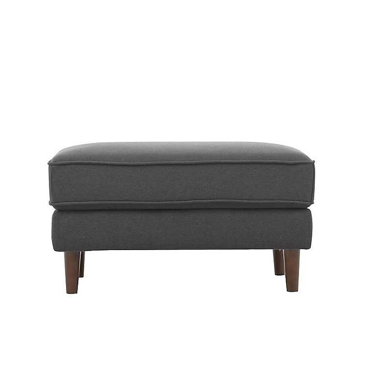 Prime Product Details Gray Tacoma Ottoman Chairs Ottoman Bench Pabps2019 Chair Design Images Pabps2019Com