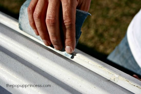 Repairing Your Camper Body Panels Page 2 Of 2 Pop Up Princess