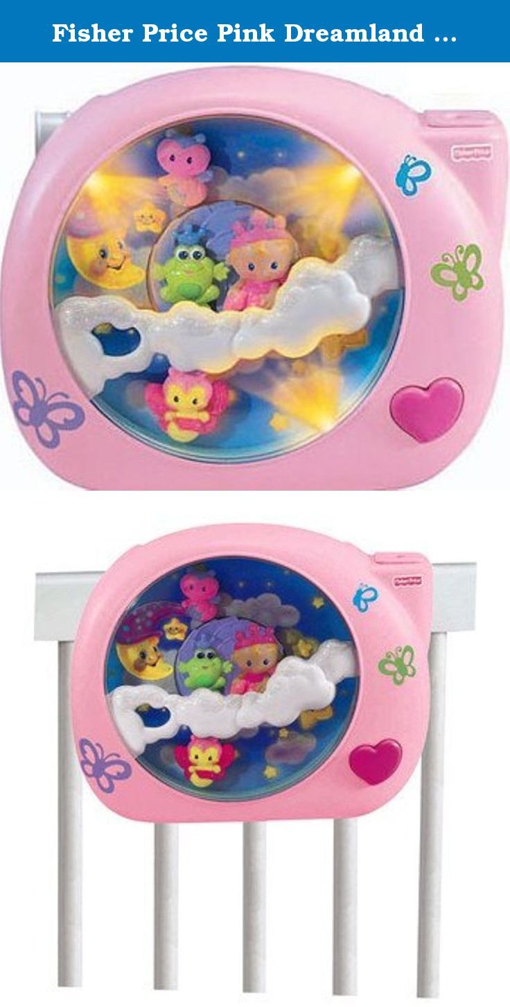 e6736dd52f1c Fisher Price Pink Dreamland Soother. Help your baby girl drift off to the  land of