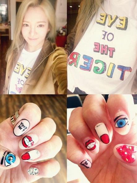 Kpop Idols Nail Art Buscar Con Google Idol Nails Kawaii Nails Nails