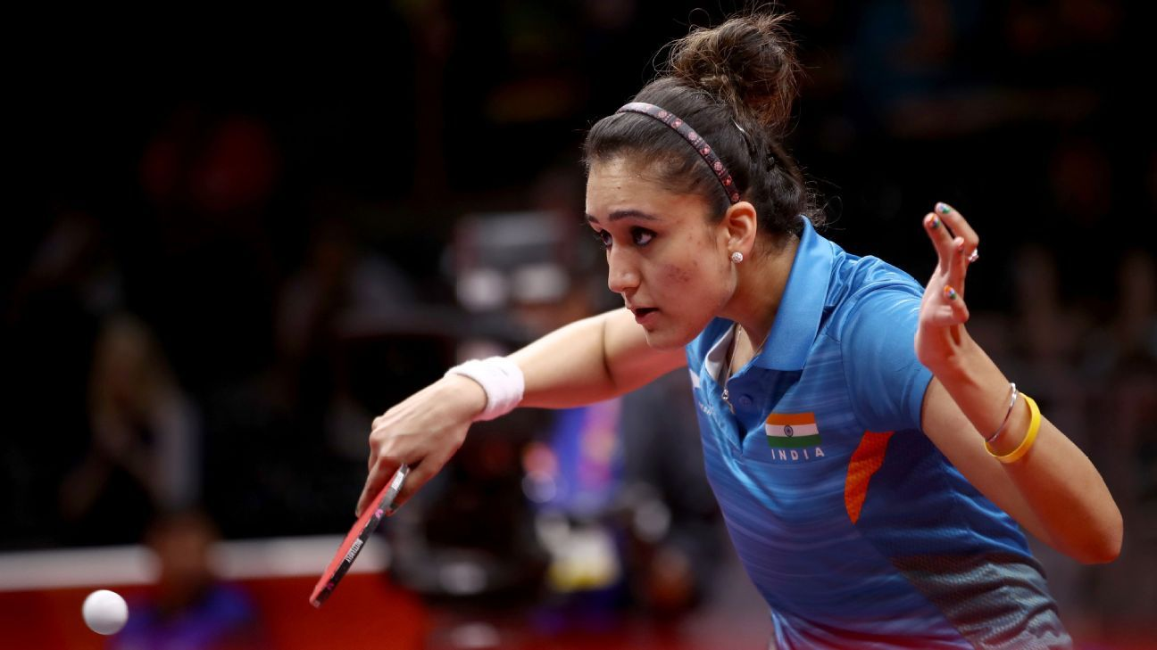 Manika S Sleight Of Backhand Gives India Historic Gold Team Events Commonwealth Games Olympics