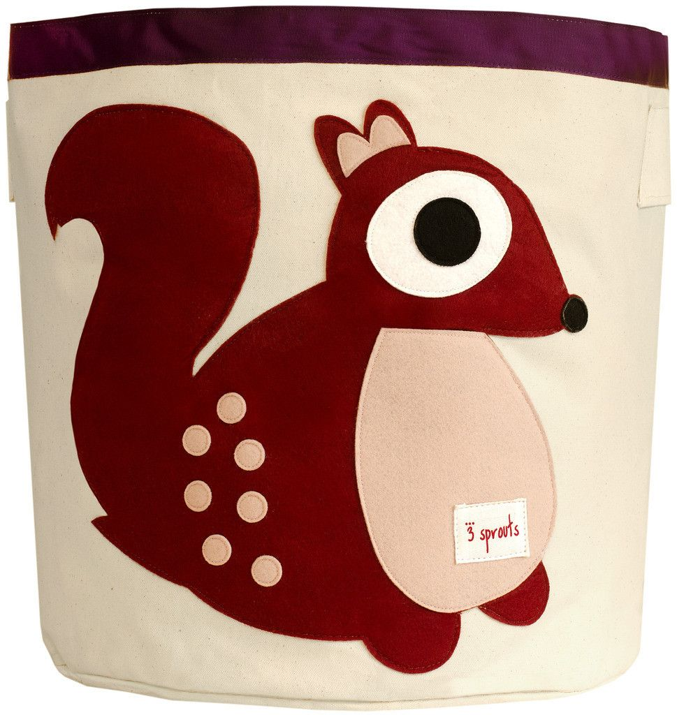 panier rangement jouet écureuil 3 Sprouts - toy storage squirrel ...