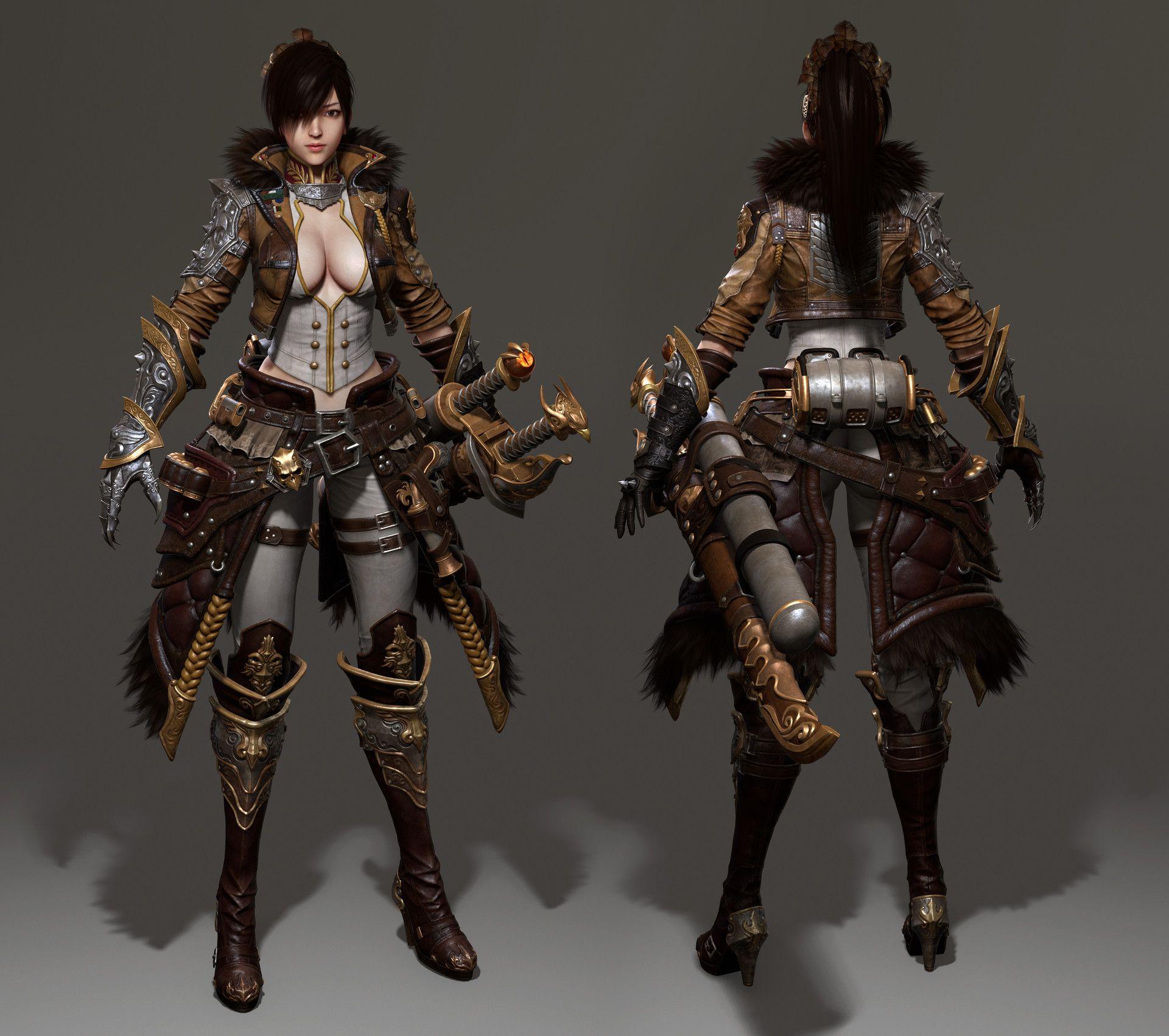 ArtStation - 《Attack on Titan_Katarina》Final Manufacturing ...