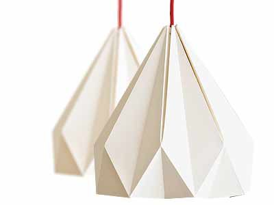 Spring Origami Lamp Set for Two