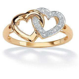 Double Heart Ring